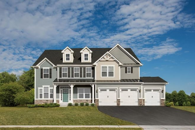 Ready To Build Home In Falls Grove Community