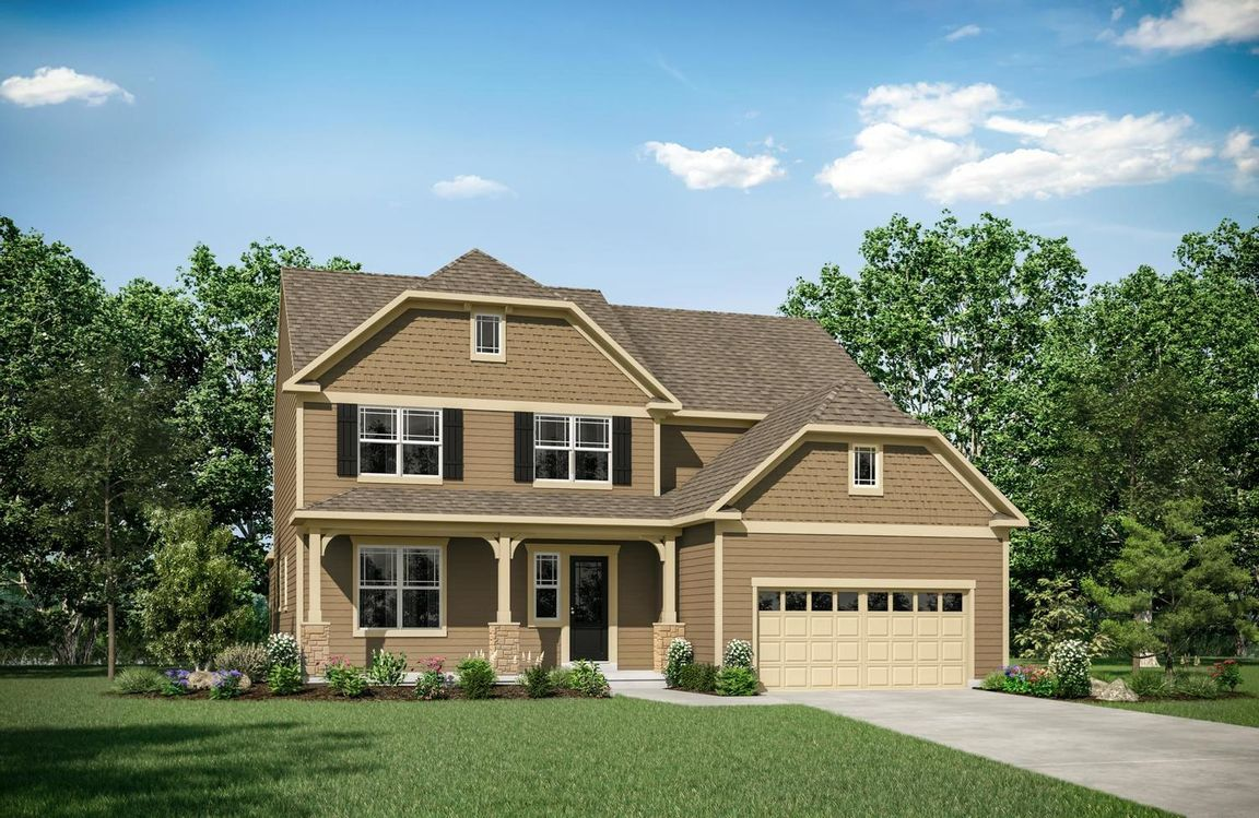 Ready To Build Home In Sudley Farm Community