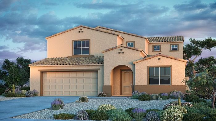 Ready To Build Home In Tierra Montana Encore Collection Community