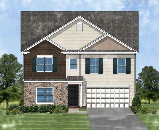 Ready To Build Home In Brookstone Community