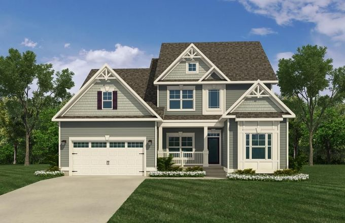 Ready To Build Home In Cypress Pointe Community