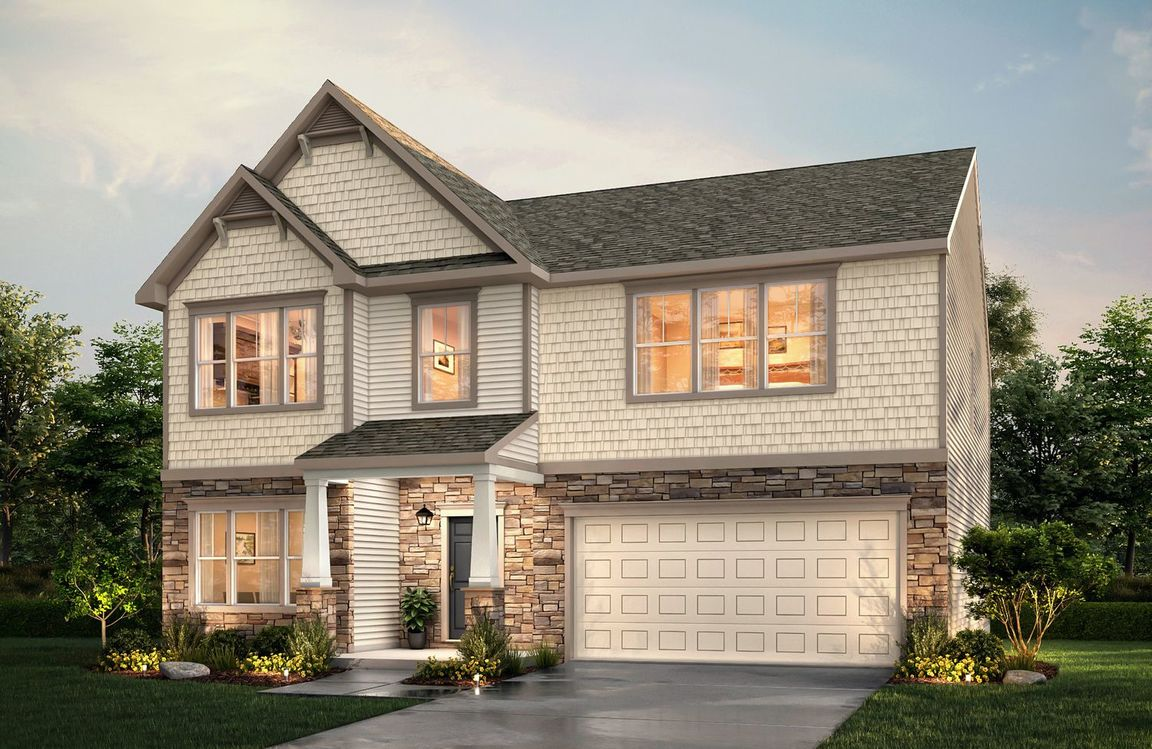 Ready To Build Home In Creeks Landing Community
