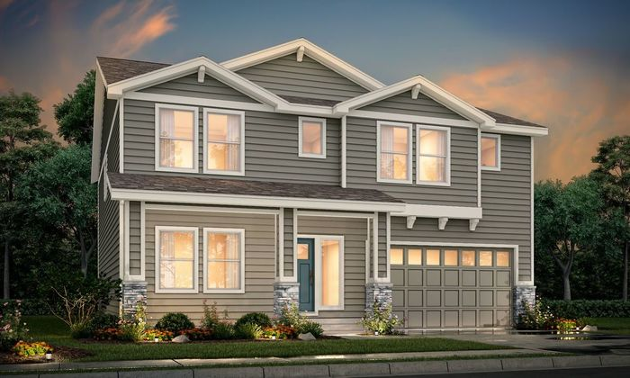 Ready To Build Home In Sorrento Community
