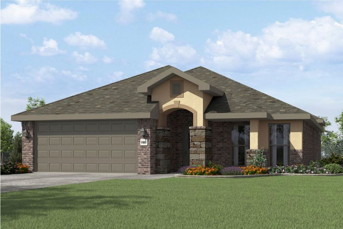 Ready To Build Home In Fox Spur Community
