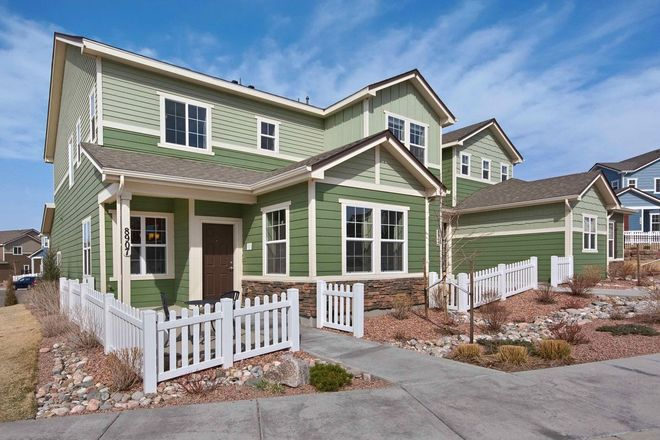 Ready To Build Home In The Townes at Cross Creek Community