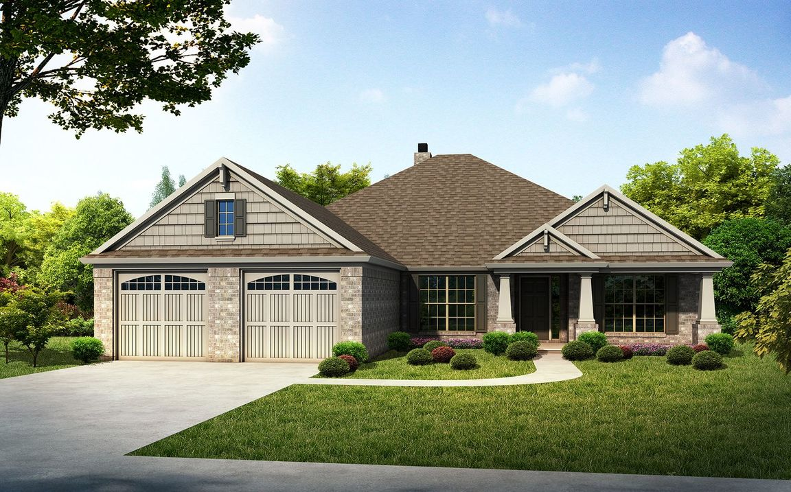 Ready To Build Home In Woodland Creek Community