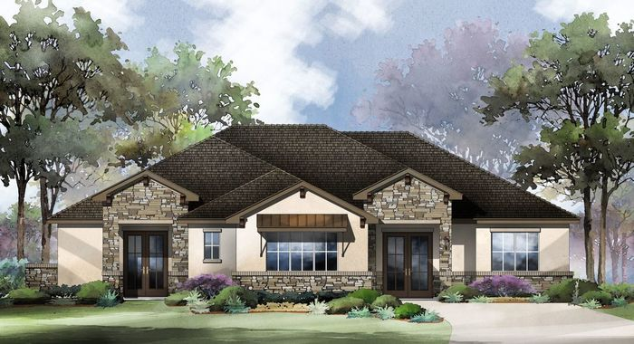 Ready To Build Home In Cimarron Hills Community