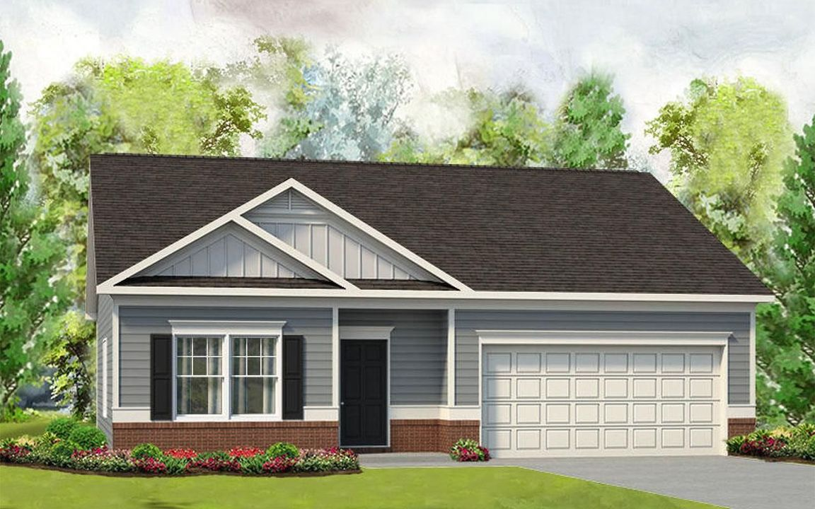 Ready To Build Home In The Glades Community