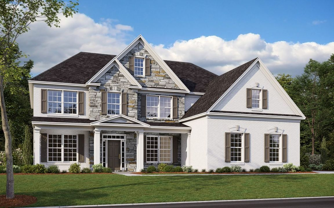 Ready To Build Home In Brookmeade Community