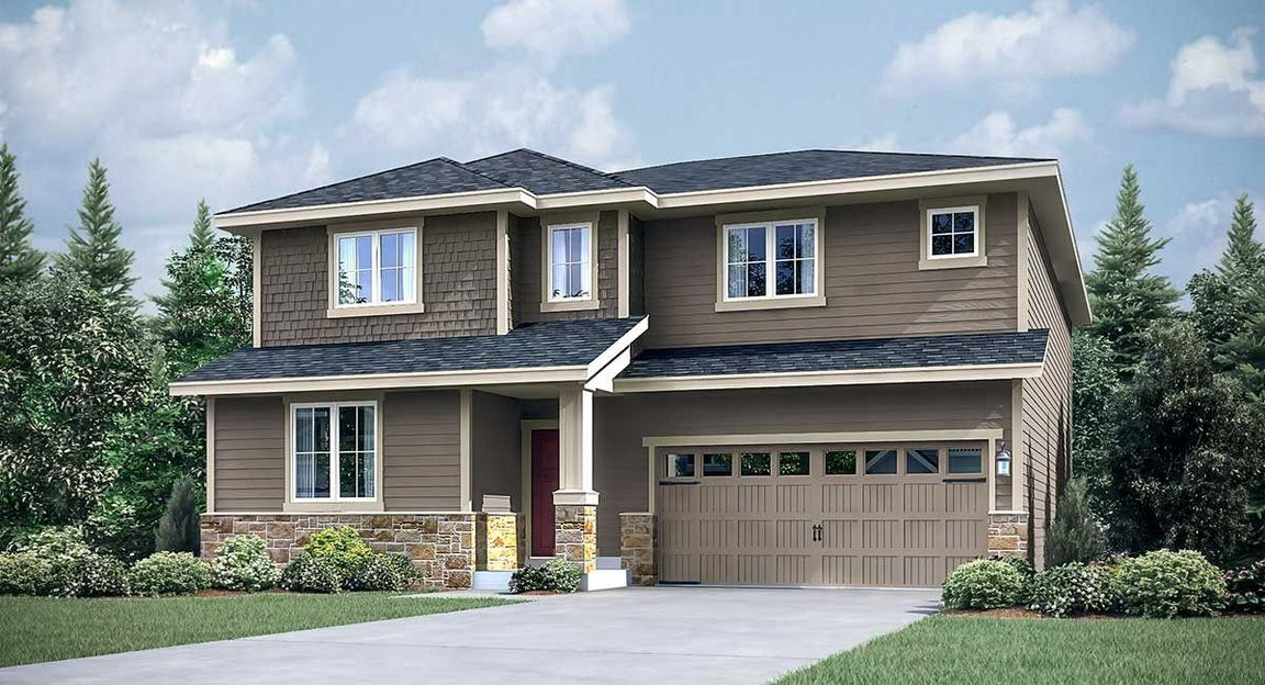 Ready To Build Home In Bellflower Woods Community