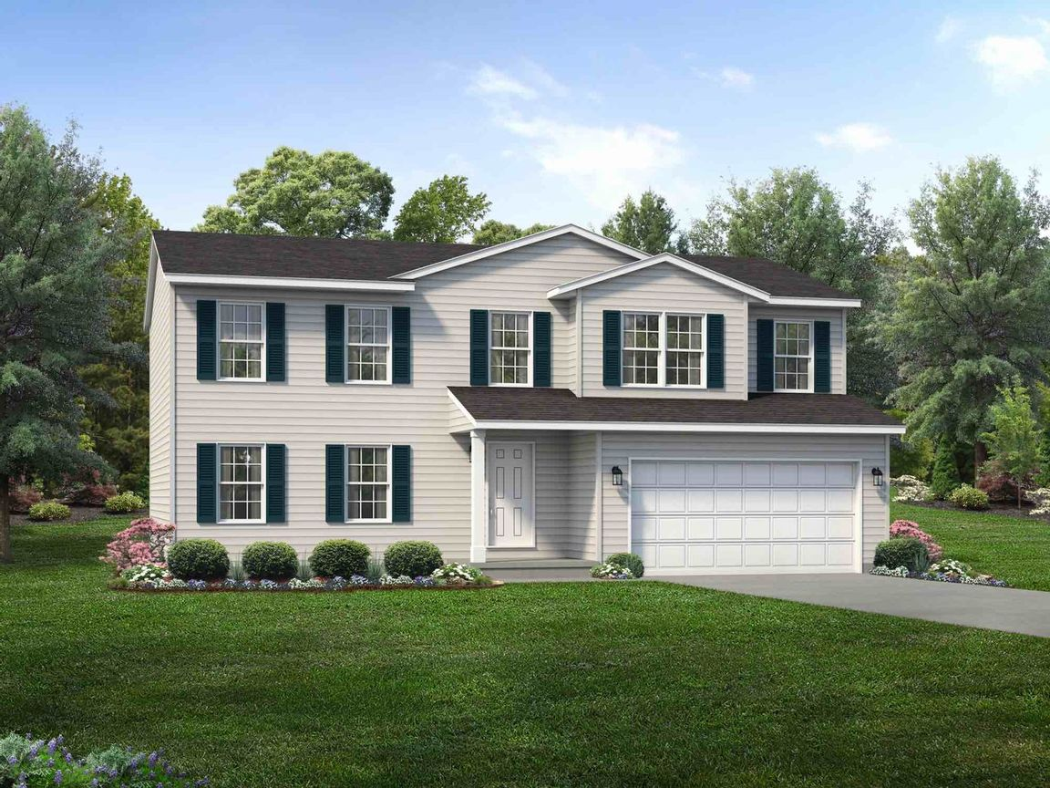 Ready To Build Home In Ashland Community