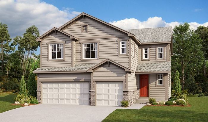 Ready To Build Home In Cliffrose at Homestead at Crystal Valley Community