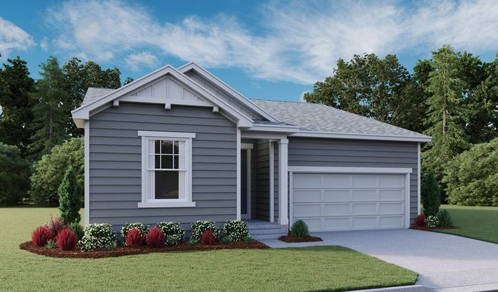 Ready To Build Home In Bella Mesa Community