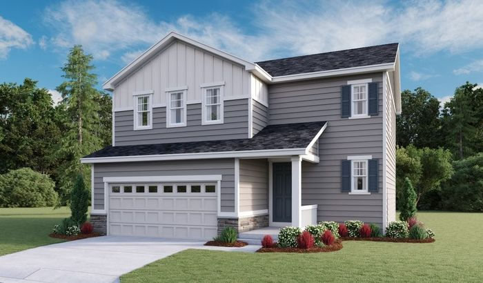 Ready To Build Home In Sky Ranch Community