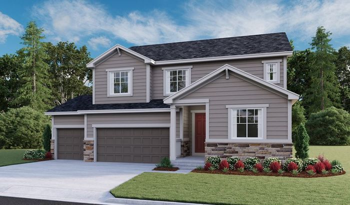 Ready To Build Home In Stone Creek Ranch Community