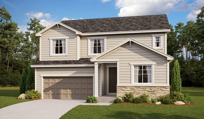 Ready To Build Home In Oak Neighborhood at Copperleaf Community