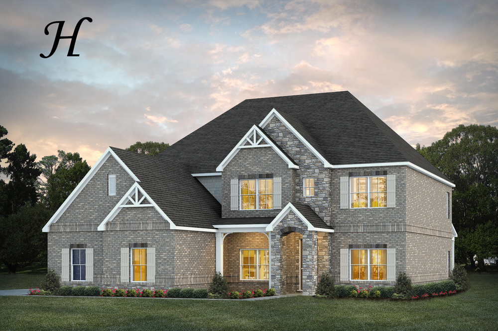 Ready To Build Home In Charleston Mills Community
