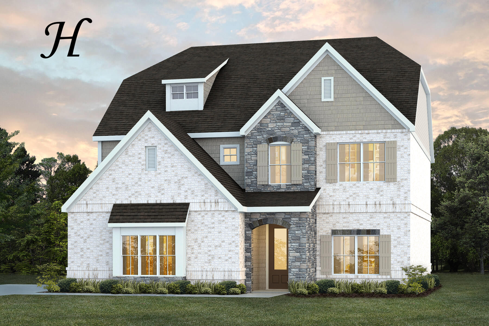 Ready To Build Home In Kamden's Cove Community