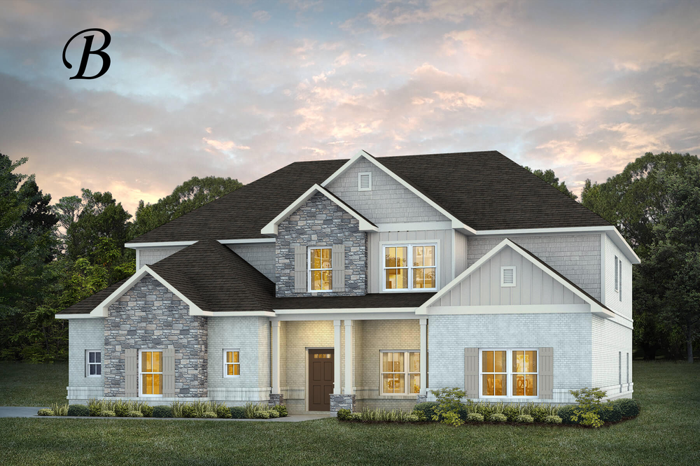 Ready To Build Home In Glennbrooke Community