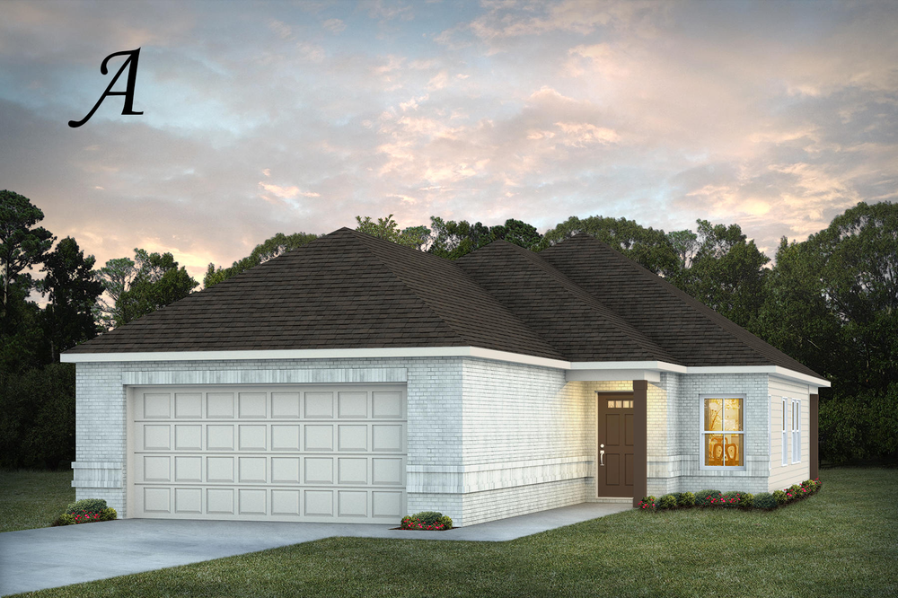 Ready To Build Home In Smiths Crossing Community