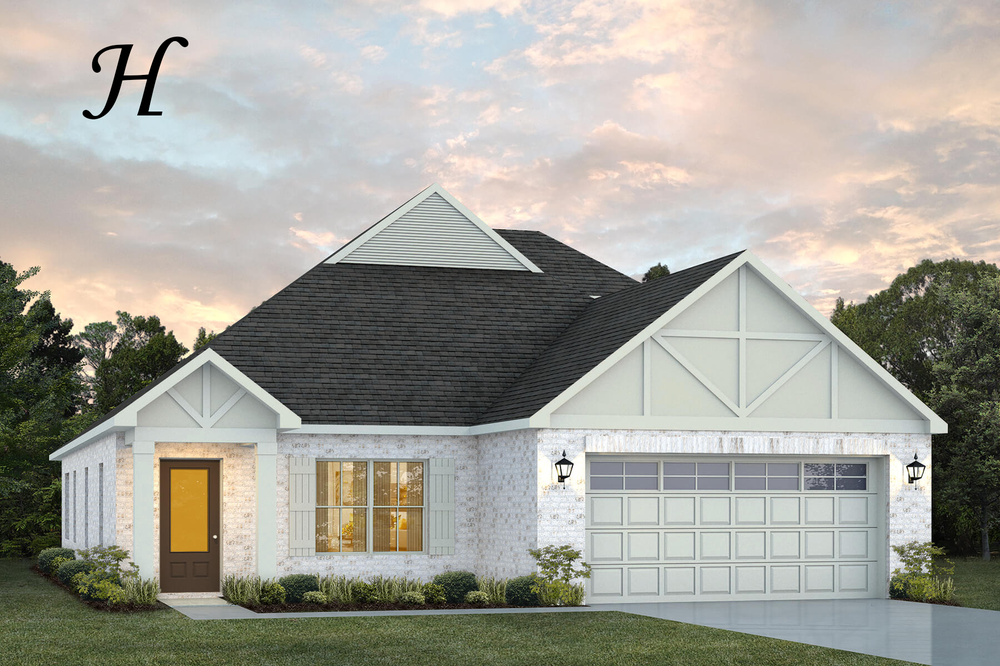 Ready To Build Home In McClain Landing Community