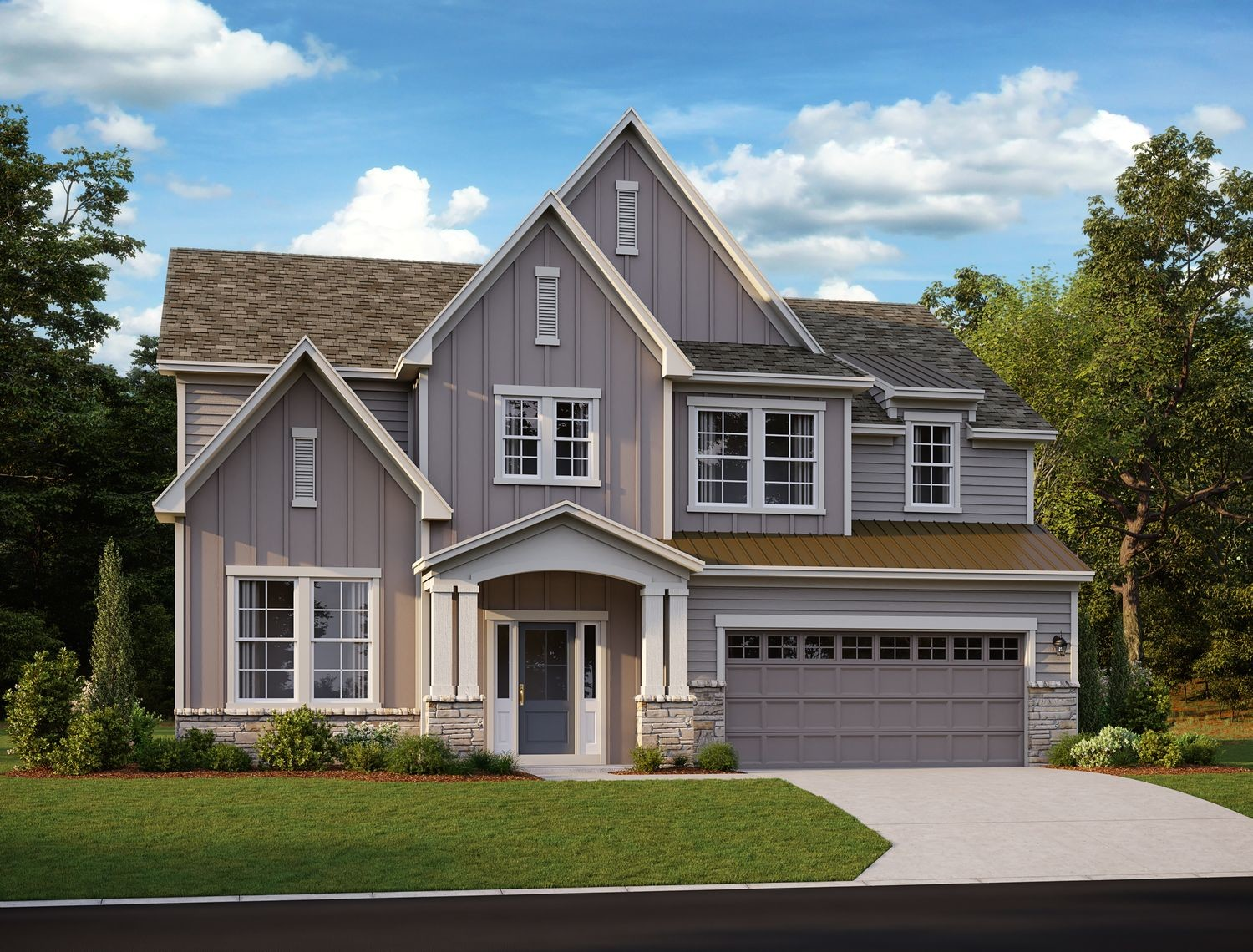 Ready To Build Home In Mason Farms Community