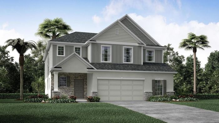 Ready To Build Home In Sawmill Creek At Palm Coast Park Community