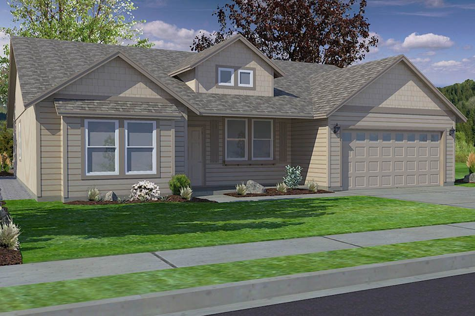 Ready To Build Home In Green Meadows Community