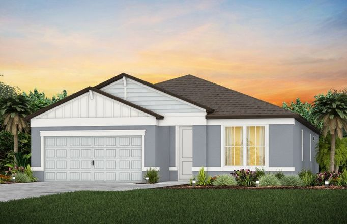 Ready To Build Home In Del Webb Stone Creek Community
