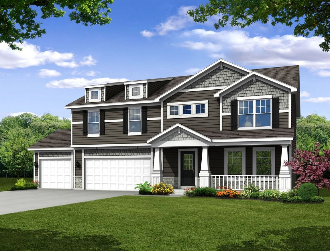 Ready To Build Home In Dunewood Trails Community