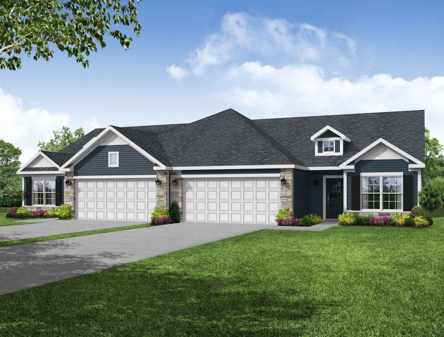 Ready To Build Home In Springdale Community
