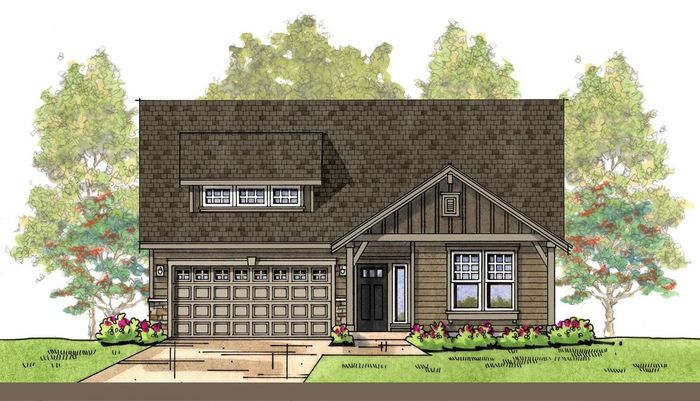 Ready To Build Home In Cambridge Commons Community