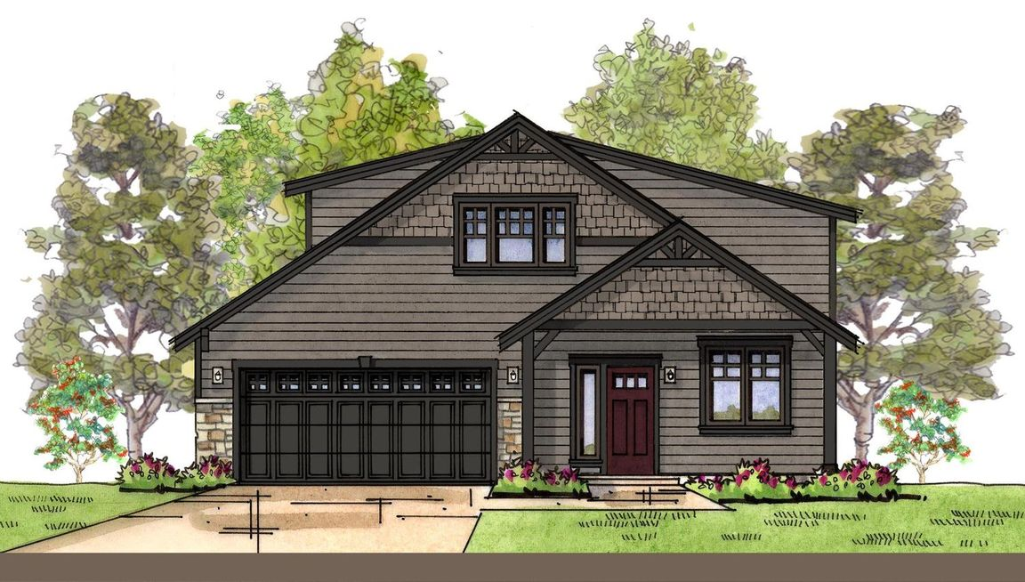 Ready To Build Home In Woods Point Community