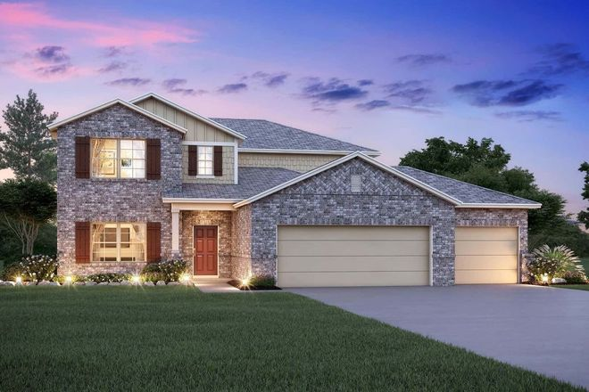 Ready To Build Home In Reserve at Mockingbird Heights Community