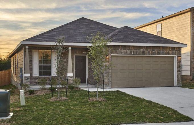Ready To Build Home In Katy Crossing Community