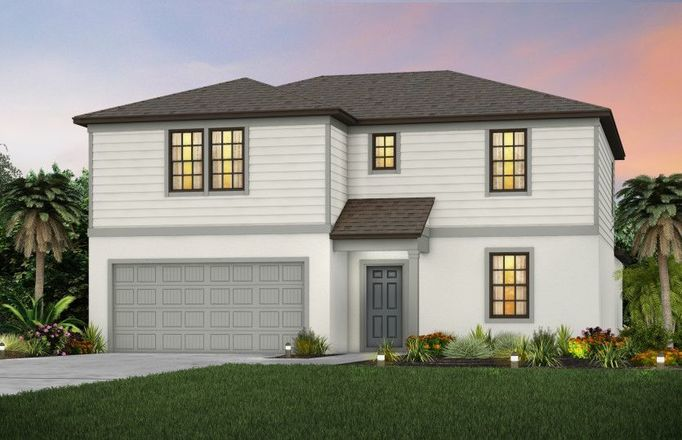 Ready To Build Home In Enclaves at Eagle Landing Community