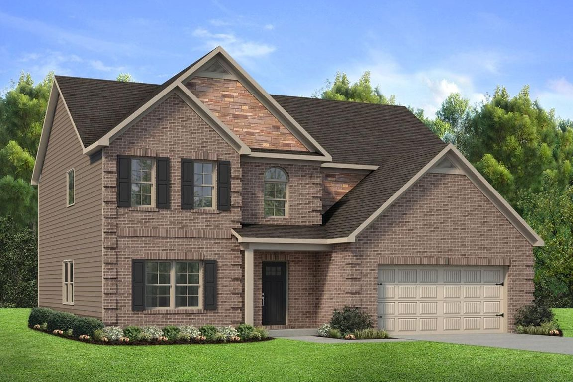 Ready To Build Home In The Lake at Mundy's Mill Community