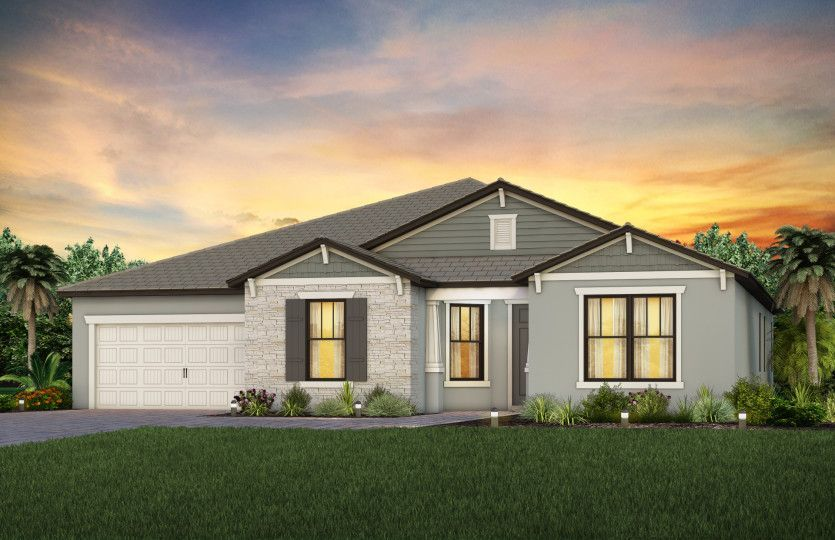 Ready To Build Home In Oak Tree Community