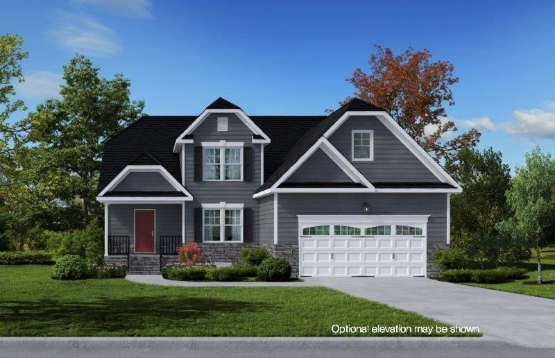 Ready To Build Home In Rolling Ridge Community