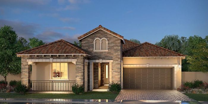 Ready To Build Home In Palma Brisa Community