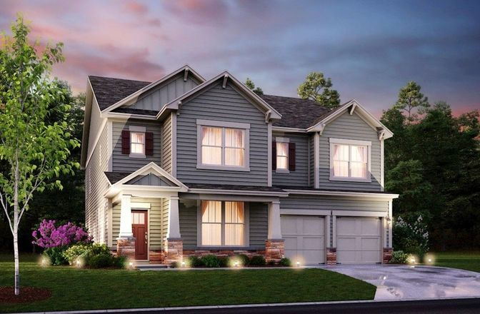 Ready To Build Home In Vinings Summit Community