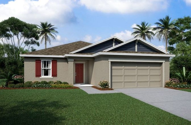 Ready To Build Home In The Reserve at Pradera - The Palms Community
