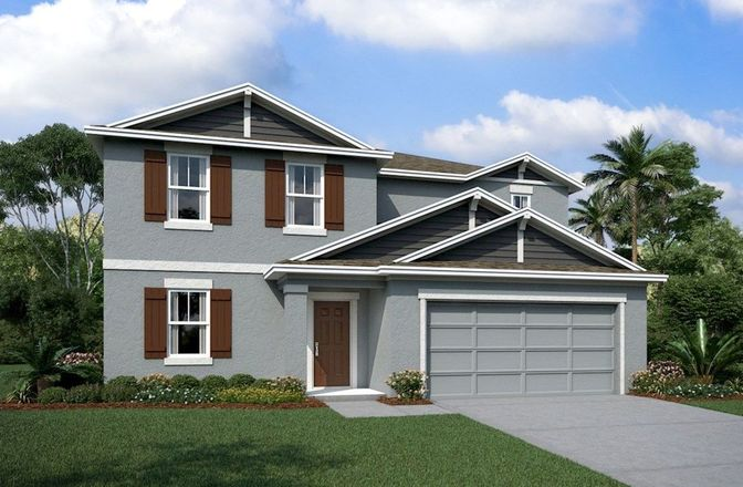 Ready To Build Home In The Reserve at Pradera Community