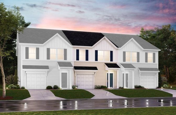 Ready To Build Home In Hunt Club - Towns Community
