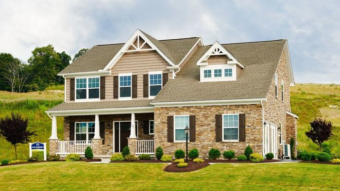 Ready To Build Home In Honors Crossing II Community