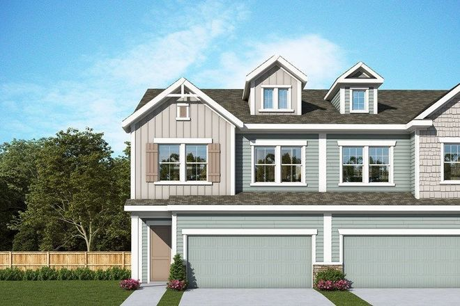 Ready To Build Home In Villa Heights - Paired Home Collection Community