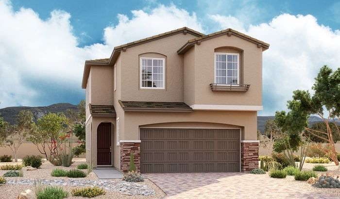 Ready To Build Home In Amberock at Lake Las Vegas Community