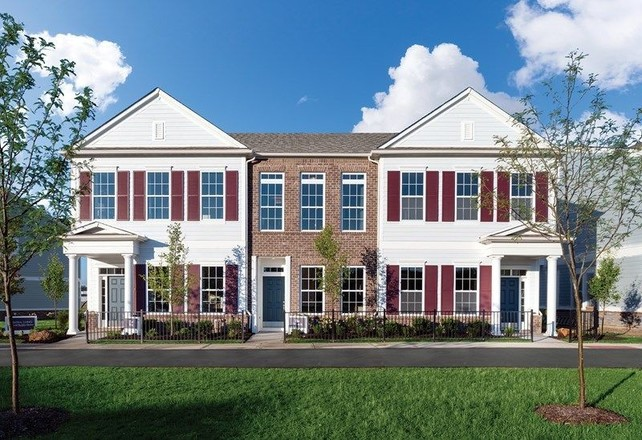 Ready To Build Home In Gramercy West Townhomes Community