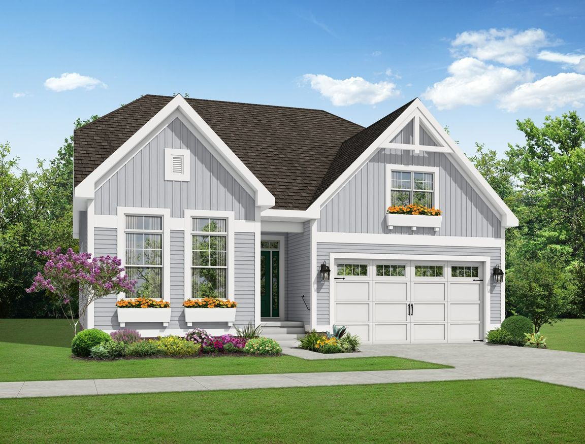 Ready To Build Home In Mosaic at West Creek Community