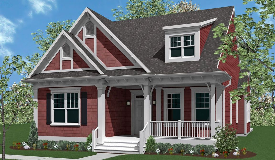 Ready To Build Home In Home Towne Square 55+ Living Community